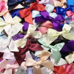 15mm Satin Ribbon Bows